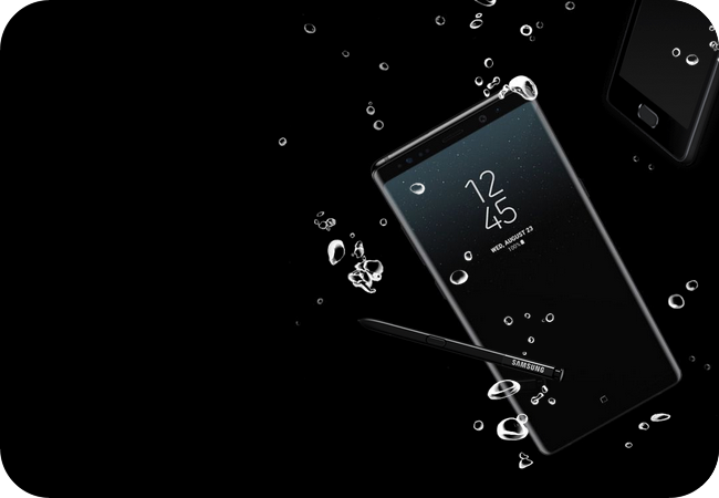 Samsung Galaxy Note 8 - wodoodporna konstrukcja