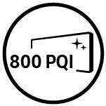 Samsung Współczynnik jakości obrazu. PQI 800